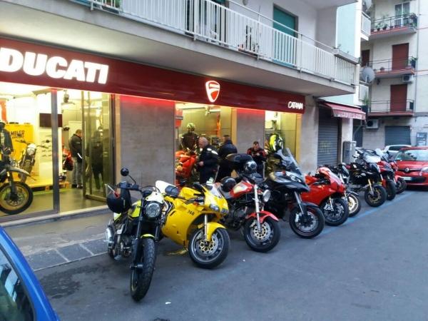 Visita ducati store catania 2017 - 2