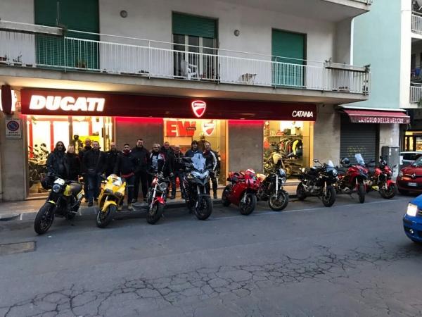 Visita ducati store catania 2017 - 5