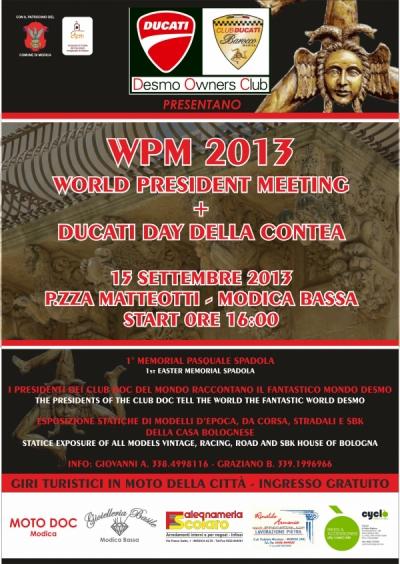 wpm 2013+ducati day della contea 15 settembre